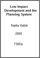LID and the Planning System